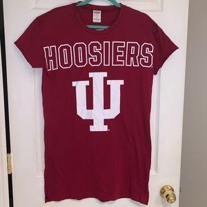 PINK Indiana Hoosiers Sleep Shirt - NWT